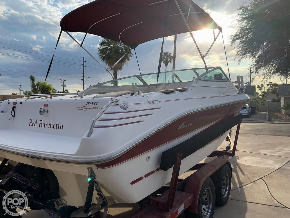 1994 Sea Ray boat for sale, model of the boat is 240 Signature Overnighter & Image # 26 of 40