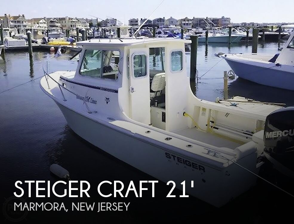 2012 Steiger Craft boat for sale, model of the boat is 21 DV CHESAPEAKE PILOT HOUSE & Image # 1 of 41