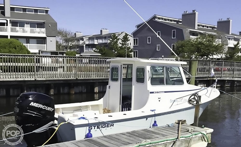 2012 Steiger Craft boat for sale, model of the boat is 21 DV CHESAPEAKE PILOT HOUSE & Image # 2 of 41