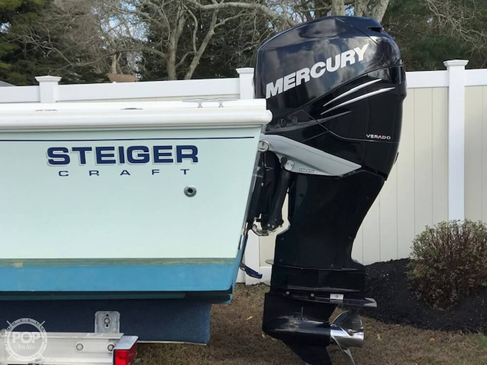2012 Steiger Craft boat for sale, model of the boat is 21 DV CHESAPEAKE PILOT HOUSE & Image # 5 of 41