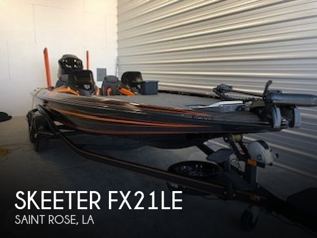 Used Skeeter Boats For Sale by owner | 2017 Skeeter FX21LE