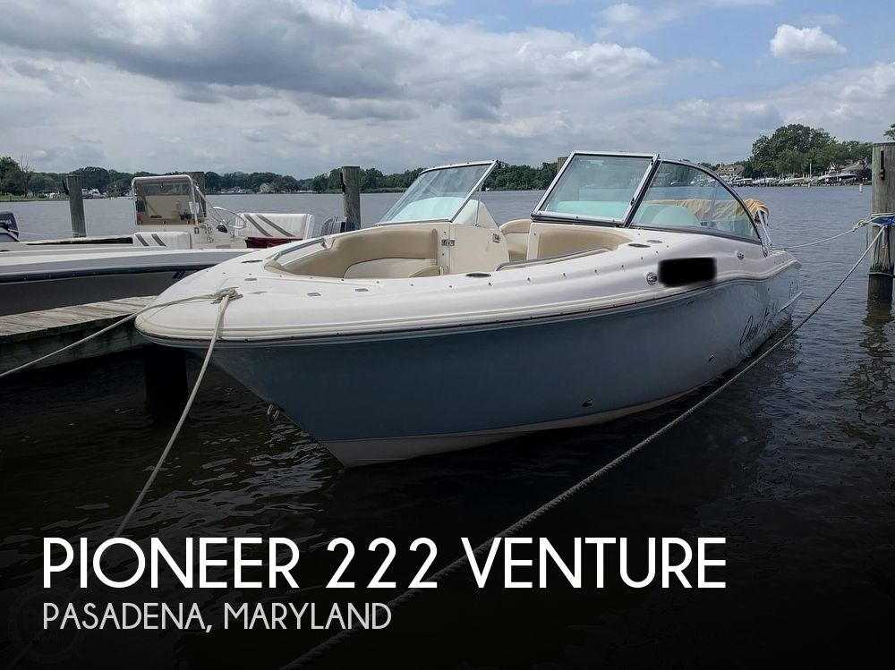 2015 Pioneer boat for sale, model of the boat is 222 Venture & Image # 1 of 40