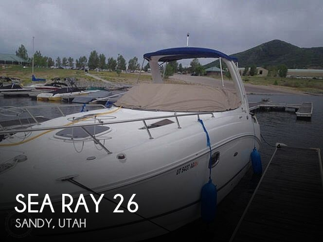 Used Boats For Sale in Provo, Utah by owner | 2010 Sea Ray 26