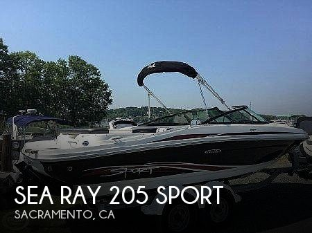 Used Sea Ray Sport Boats For Sale by owner | 2011 Sea Ray 205 Sport