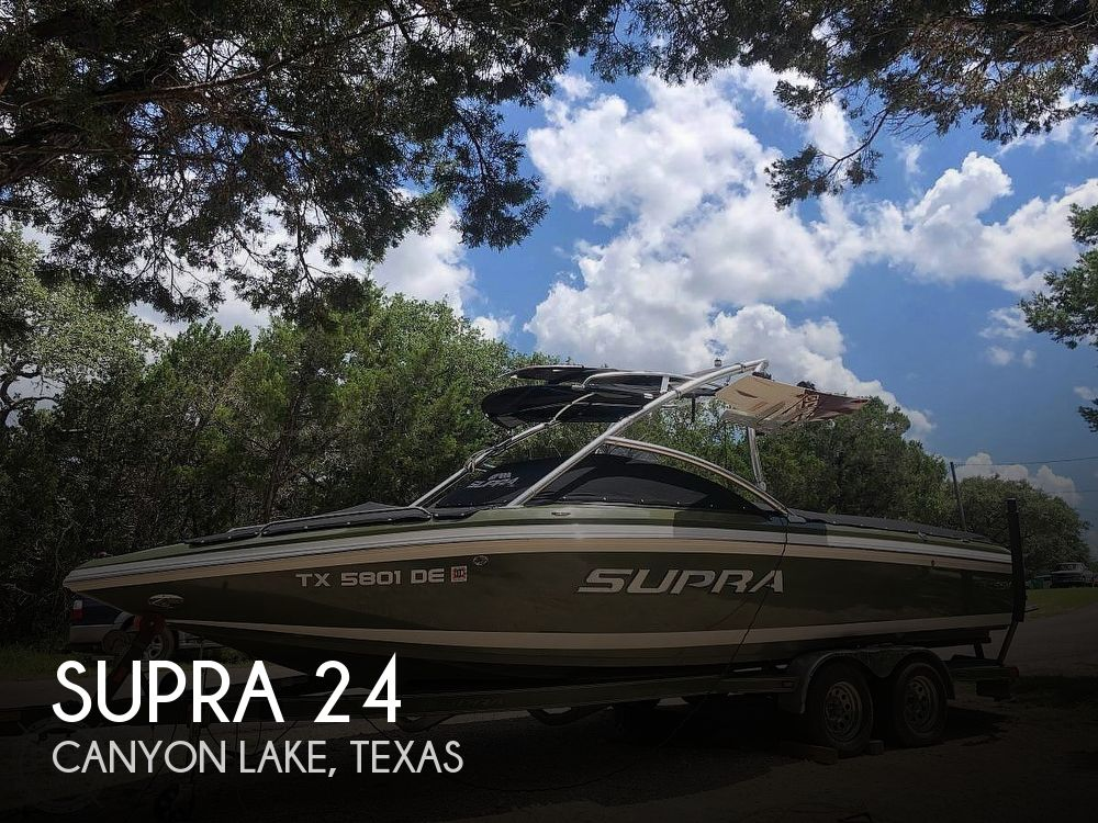 Used SUPRA Boats For Sale by owner   2008 Supra 24