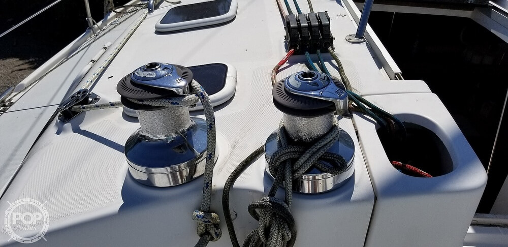 2002 Hunter boat for sale, model of the boat is 410 & Image # 7 of 40