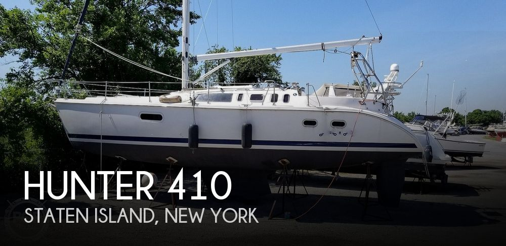 2002 Hunter boat for sale, model of the boat is 410 & Image # 1 of 40