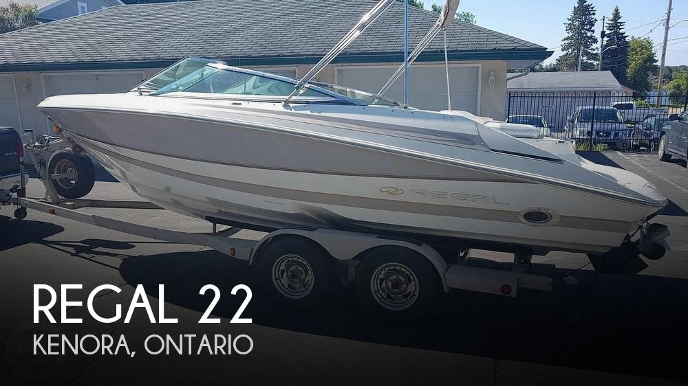 Used Regal 22 Boats For Sale by owner | 2003 Regal 22