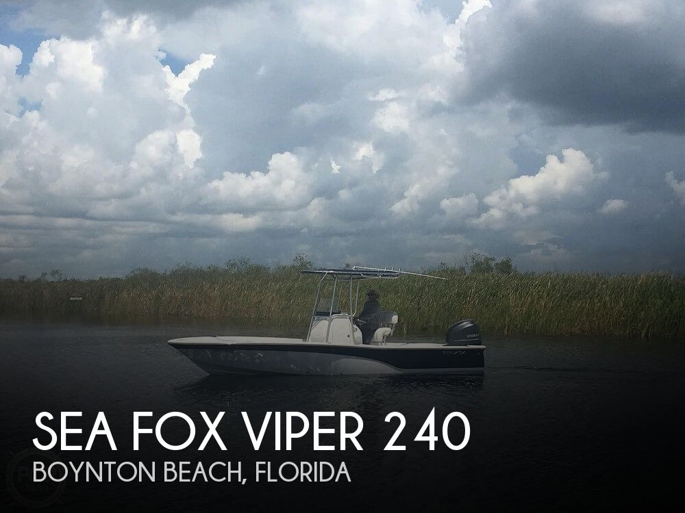 Used Sea Fox Boats For Sale by owner | 2013 Sea Fox 24