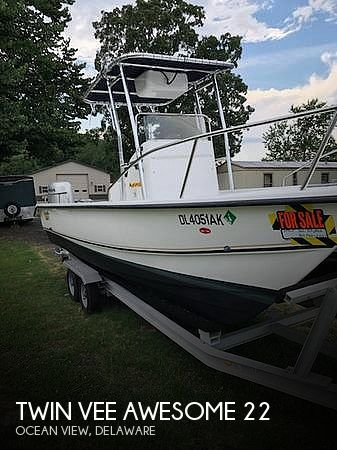 Used Twin Vee Boats For Sale by owner | 2002 Twin Vee 22