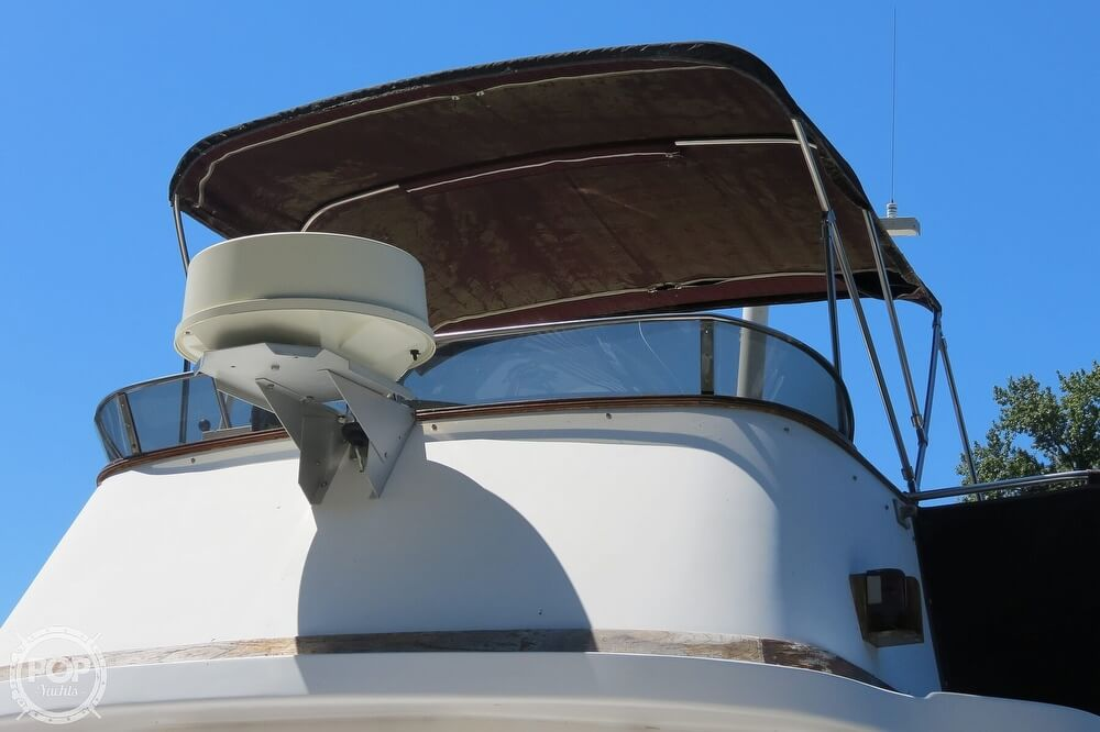 1983 CHB boat for sale, model of the boat is 35 Europa Sedan & Image # 9 of 40
