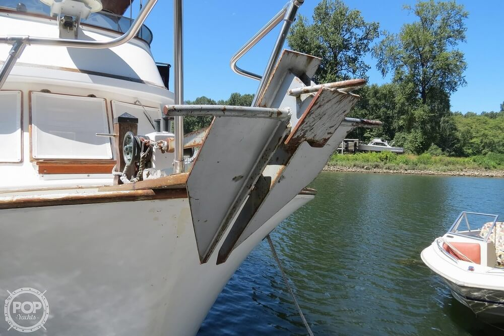 1983 CHB boat for sale, model of the boat is 35 Europa Sedan & Image # 8 of 40
