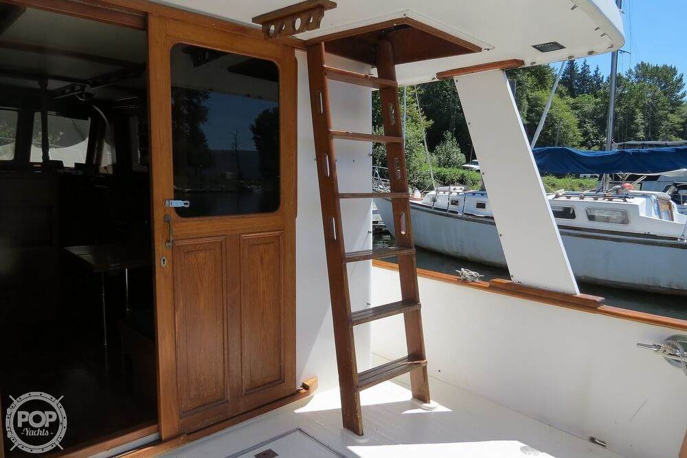 1983 CHB boat for sale, model of the boat is 35 Europa Sedan & Image # 30 of 40
