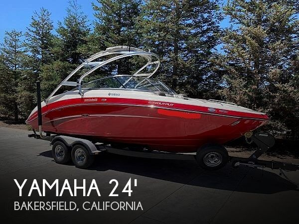 Used Boats For Sale in Bakersfield, California by owner | 2014 Yamaha 24