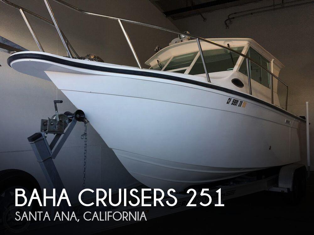 2007 Baha Cruisers 251 GLE