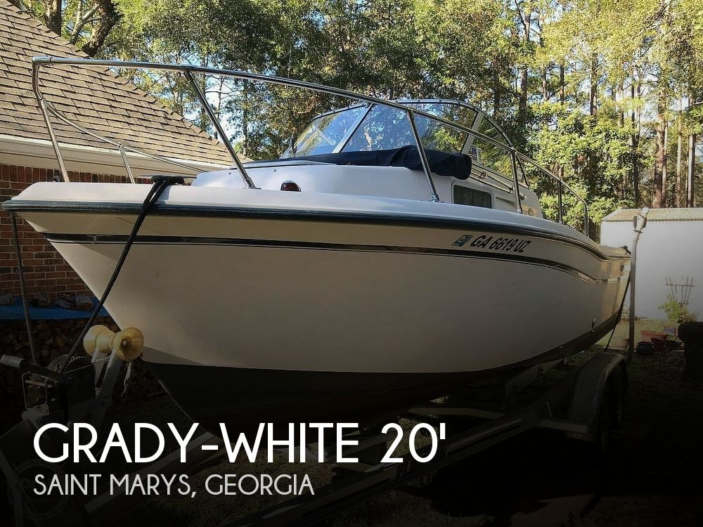 Used Grady-White Boats For Sale in Georgia by owner | 2007 20 foot Grady-White Adventurer
