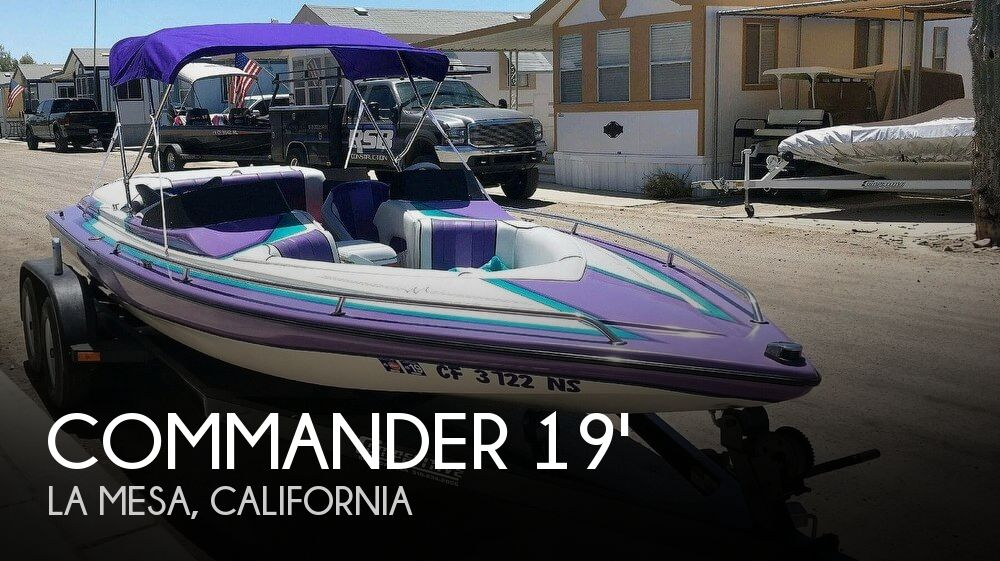 Used Commander Boats For Sale by owner | 1996 Commander 19