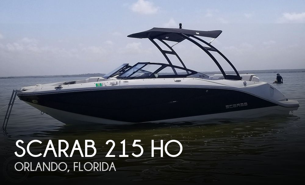 Used Scarab Boats For Sale by owner | 2014 Scarab 215 HO