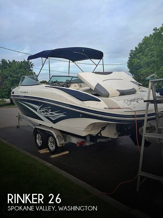 Used Rinker Boats For Sale in Washington by owner | 2011 Rinker 26