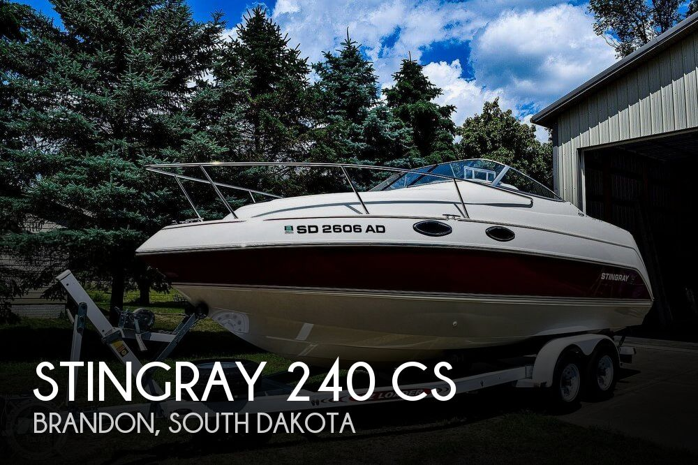 Used Boats For Sale in South Dakota by owner | 2000 Stingray 24