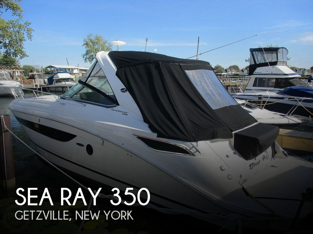 2015 Sea Ray boat for sale, model of the boat is 350 Sundancer & Image # 1 of 40