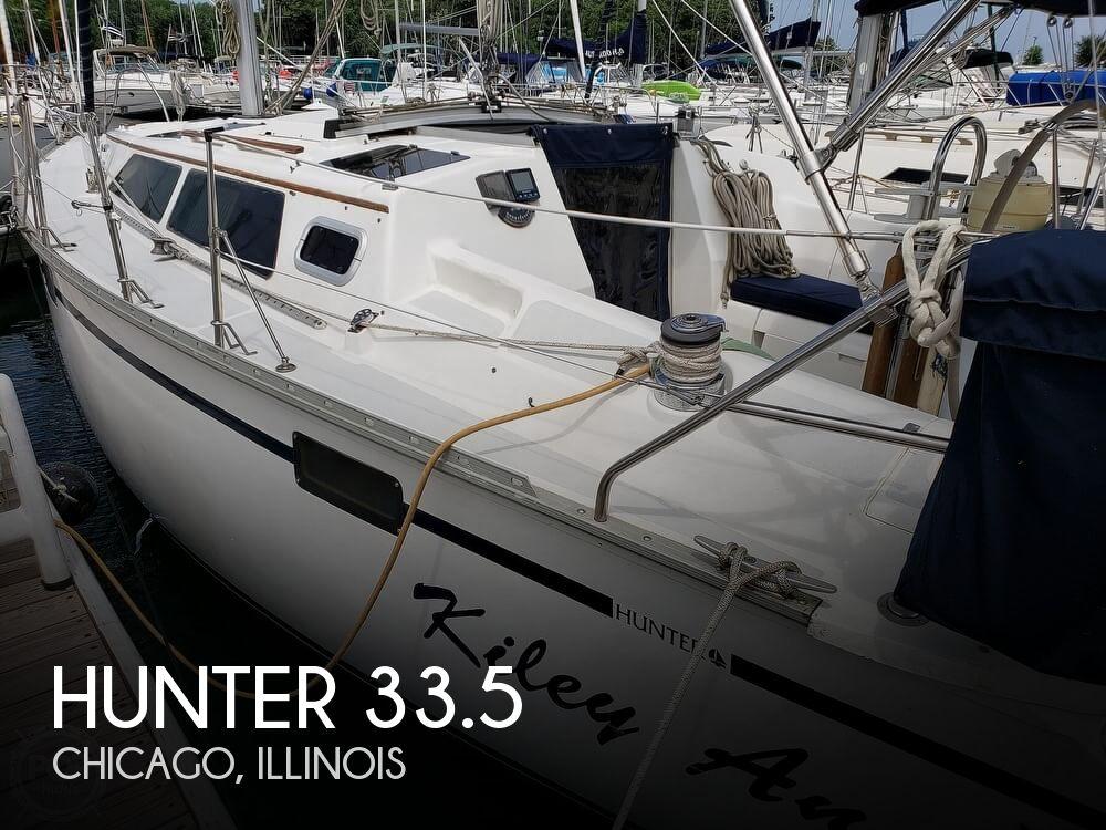 1992 Hunter 33.5