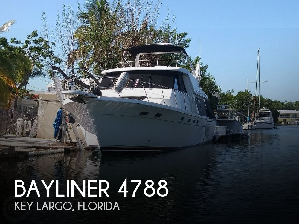 Used Bayliner Motoryachts For Sale by owner | 1994 Bayliner 4788