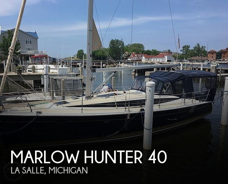 Used Boats For Sale in Michigan by owner | 2014 Marlow Hunter 40