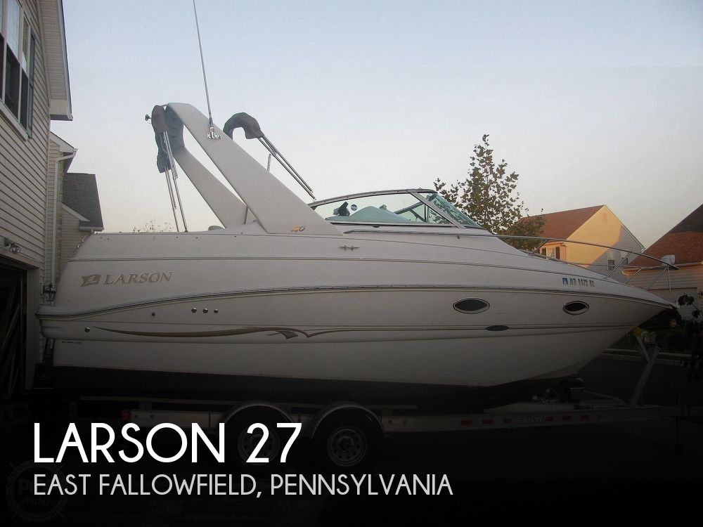 Used Boats For Sale in Allentown, Pennsylvania by owner | 2001 Larson 27