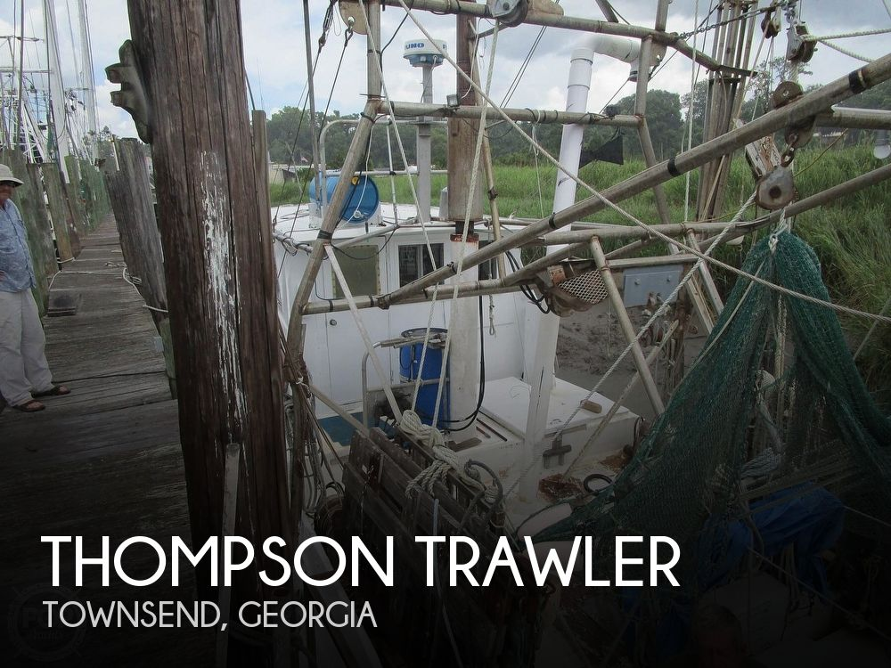 Used Thompson Boats For Sale by owner | 1970 48 foot Thompson Trawler