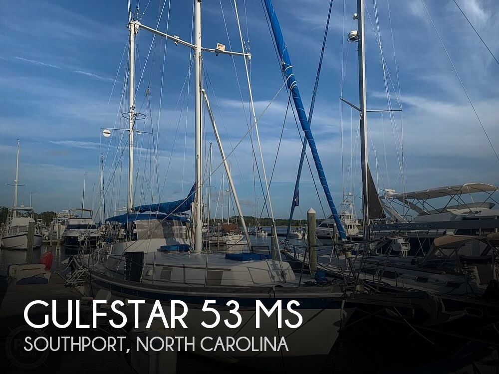 Used Boats For Sale in Wilmington, North Carolina by owner | 1973 Gulfstar 53
