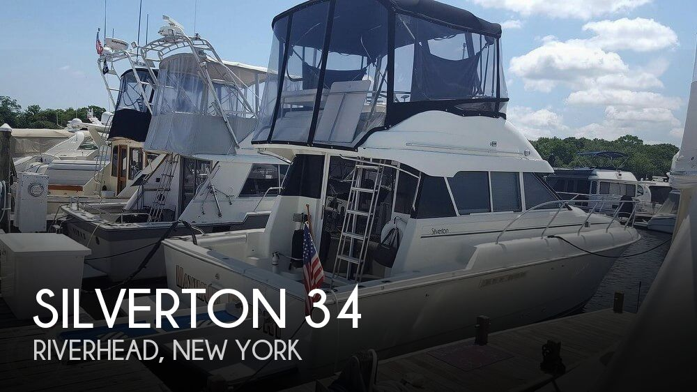 Used Boats For Sale in Hartford, Connecticut by owner | 1994 Silverton 34