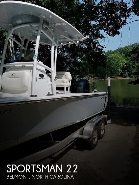 Used Ski Boats For Sale in Spartanburg, South Carolina by owner | 2018 Sportsman 22
