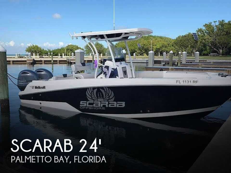 Used Scarab Boats For Sale by owner | 2017 Scarab 24