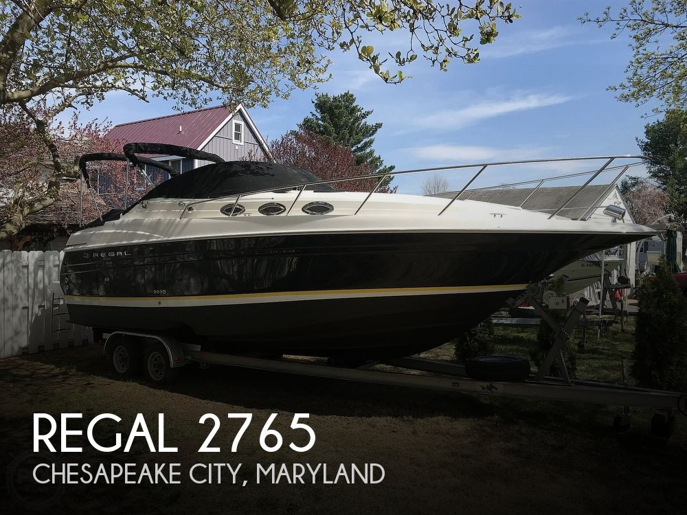 Used Regal Boats For Sale in Maryland by owner | 2006 Regal 2765