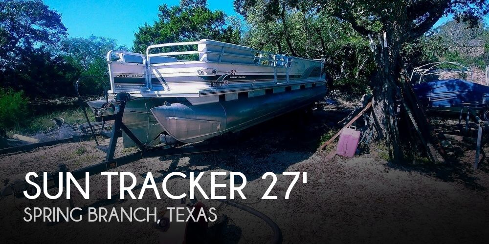 Used Pontoon Boats For Sale by owner | 2001 Sun Tracker 27