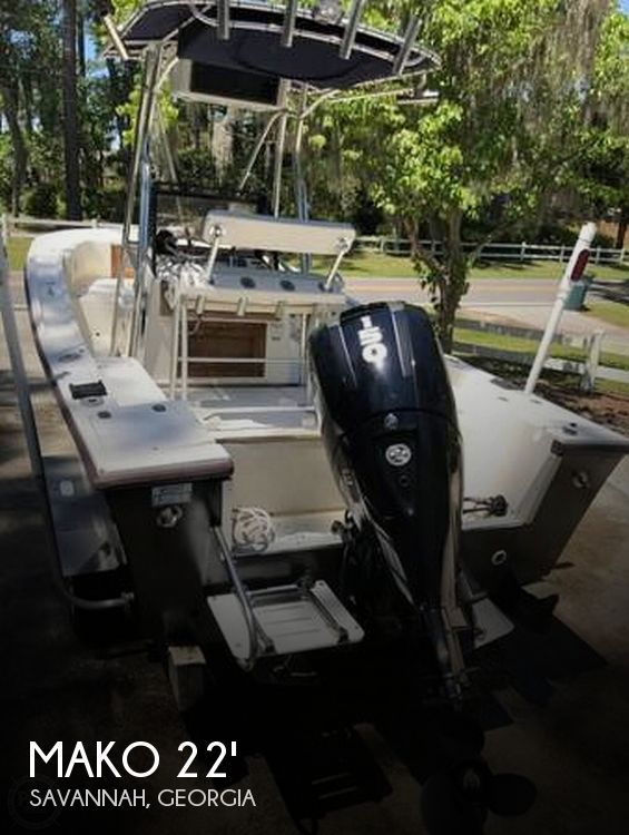 1989 Mako boat for sale, model of the boat is 22 Center Console & Image # 1 of 40