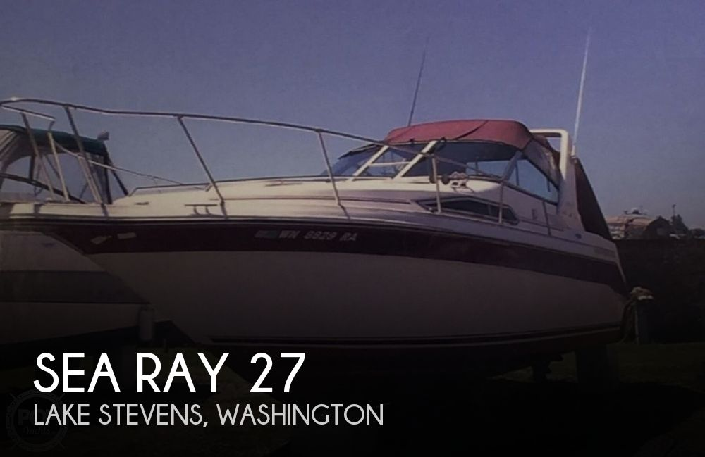 Used Sea Ray Boats For Sale in Washington by owner | 1991 Sea Ray 27