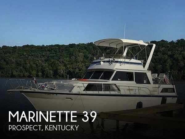 Used Marinette Boats For Sale by owner   1986 Marinette 39