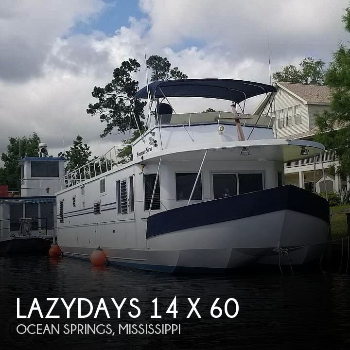 Used Houseboats For Sale by owner | 1988 Lazydays 14 x 60