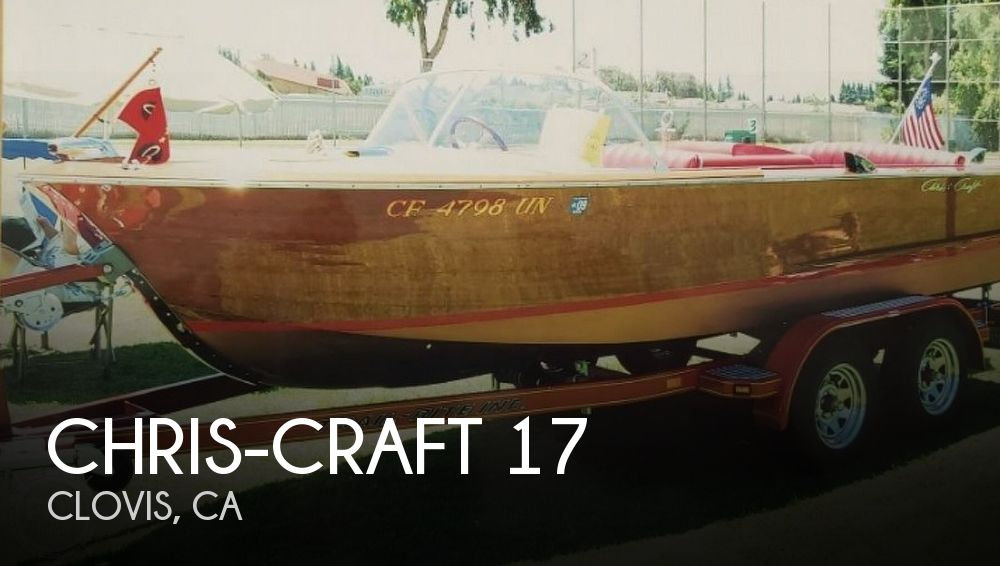Used Chris-Craft Boats For Sale in California by owner | 1964 Chris-Craft 17