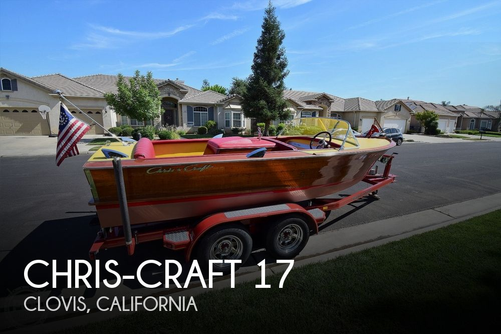 1964 Chris Craft boat for sale, model of the boat is 17 & Image # 1 of 40