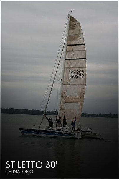 Used Sailboats For Sale in Ohio by owner | 1986 Stiletto 30'
