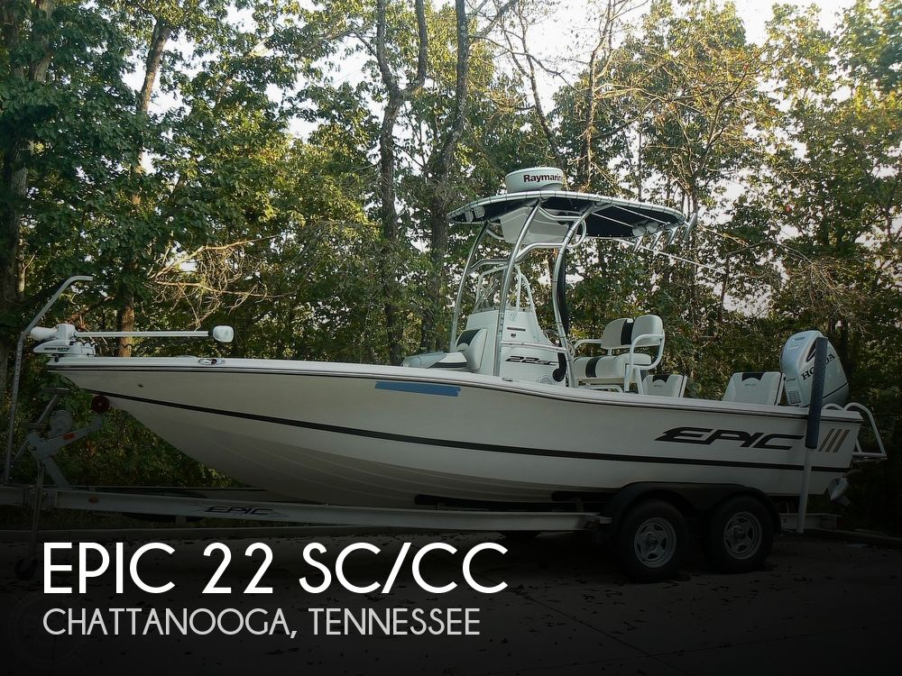 Used Epic Boats For Sale by owner | 2015 Epic 22 SC/CC