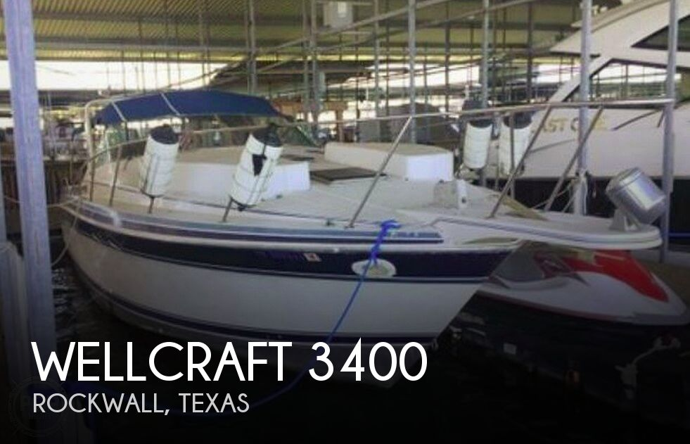 Used Wellcraft Boats For Sale in Texas by owner | 1989 Wellcraft Gran Sport 3400