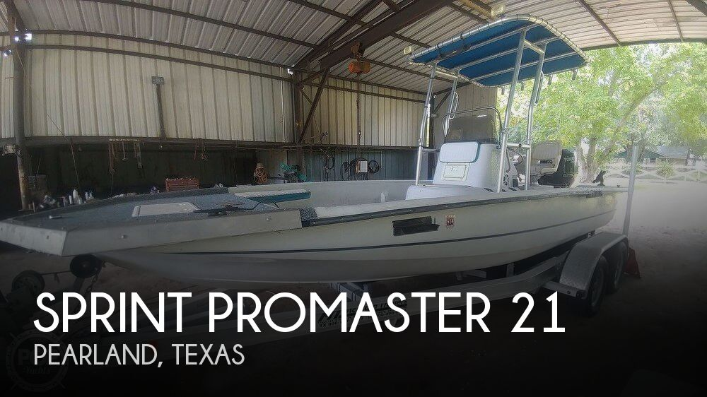 2000 Sprint boat for sale, model of the boat is Promaster 21 & Image # 1 of 40