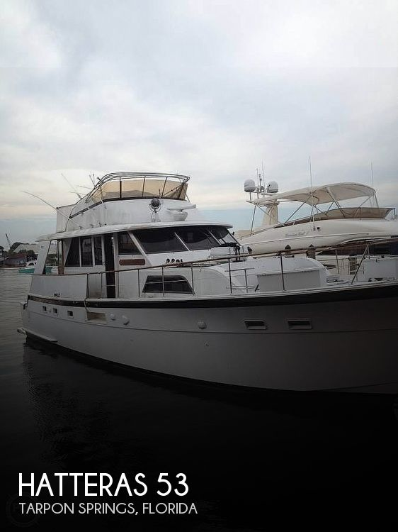 Used HATTERAS Motoryachts For Sale by owner | 1978 Hatteras 53