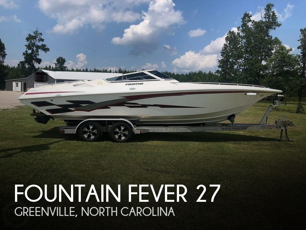 Fountain Boats For Sale >> 2000 Fountain Fever For Sale