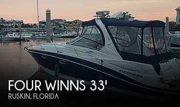 Used Four Winns Boats For Sale in Florida by owner | 2006 Four Winns 318 Vista