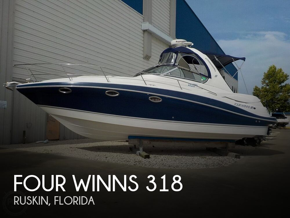 2006 Four Winns boat for sale, model of the boat is 318 Vista & Image # 1 of 40